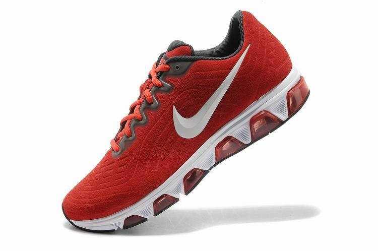 nouveau produit 6c57c a0b89 Nike Air Max 2014 daim rouge blanc Hommes Chaussures Running ...