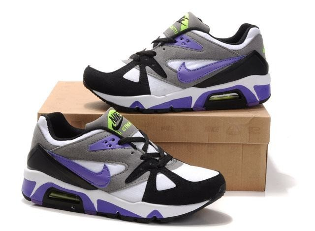 top quality popular stores picked up Air Max 91 Nike Chaussures Running Training Hommes Blanc Violet ...