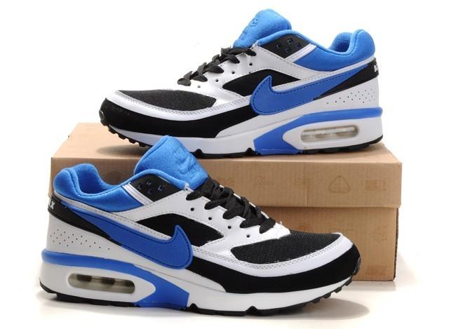 Bleu Blanc Noir Air Max BW Nike Chaussures Running Sport