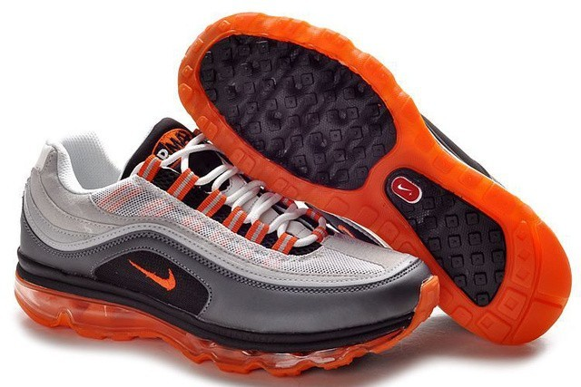 air max 1 noir gris orange