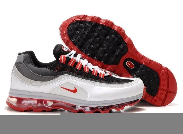 Hommes Air Max 24 7 Nike Chaussures Running Training Blanc