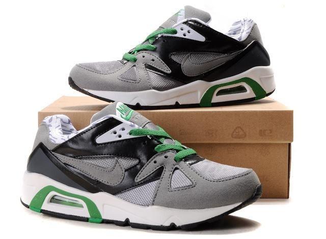 Hommes Air Max 91 Nike Noir Chaussures Running Training Gris Noir Nike Blanc d99a09