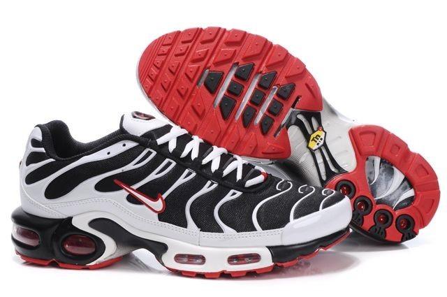 Hommes Air Max Tn Nike Blanc Chaussures Running Trainer Noir Blanc Nike Rouge 2464f5