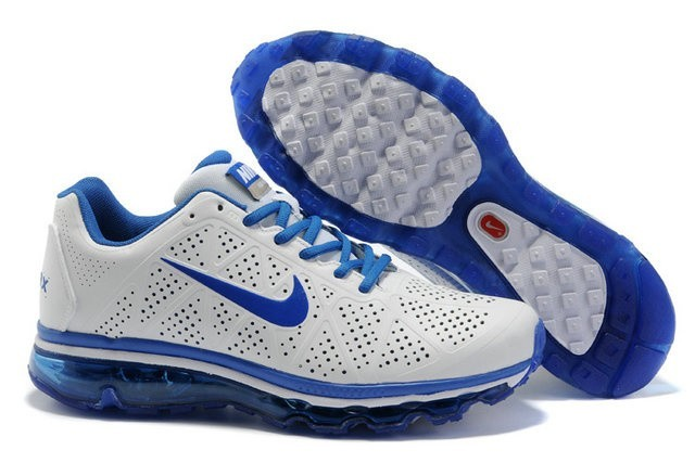 nike air max tn homme chaussures blanc bleu 2009